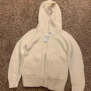 Toddler Girl Zip Up Knit Jacket